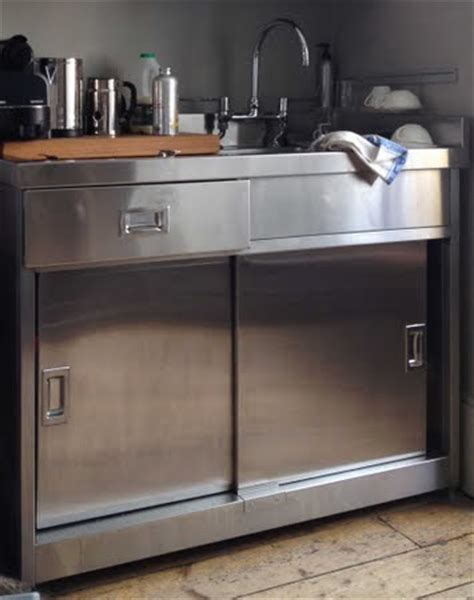 Metal Kitchen Sink Cabinet Unit Stainless Steel Sink Unit With Cupboard Tower House Sink Units Stainless