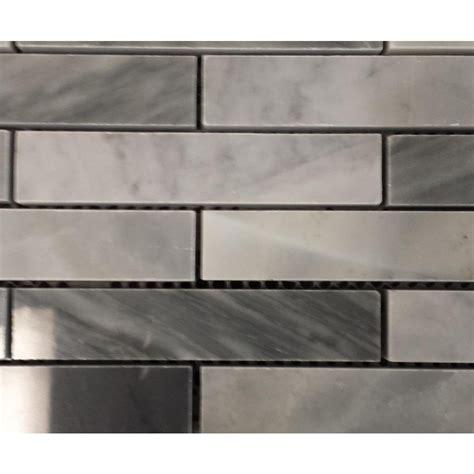 shop for bardiglio blend big brick pattern at tilebar