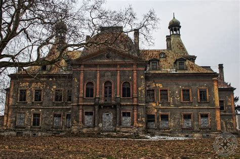 old mansions decaying mansion in poland ruins dilapidated decay