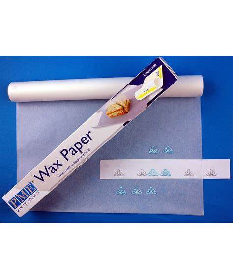 How To Make Waxed Paper - pme wax paper the vanilla valley