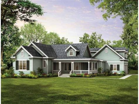 Small Country House Plans With Wrap Around Porches by Small Country House Plans With Wrap Around Porches