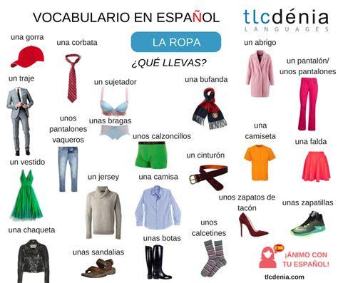 imagenes de ropa en ingles y español en la escuela hemos comenzado las clases aprende la ropa