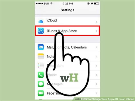 3 iphones on same apple id 3 ways to change your apple id on an iphone wikihow