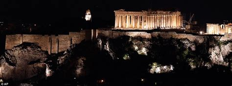 The Light In The Ruins by Earth Hour Caign To See Worldwide Cities And Towns Turn