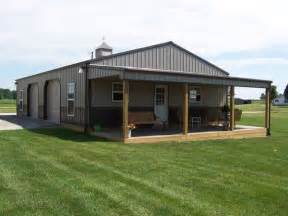 garage building ideas definitely want a porch on our barn cedar logs for posts steel buildings turned into homes