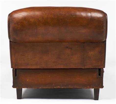 leather banquette french 1930 art deco leather banquette at 1stdibs