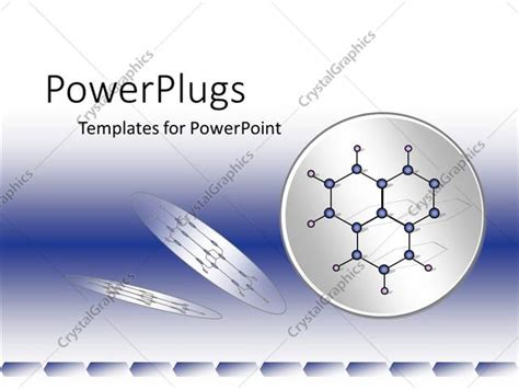 Powerpoint Template Blue And White Chemistry Physics Physics Ppt Template Free
