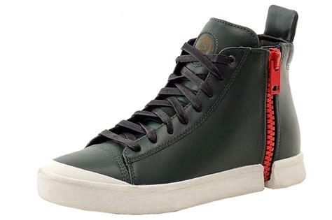s diesel sneakers diesel s s nentish zip around high top sneakers shoes