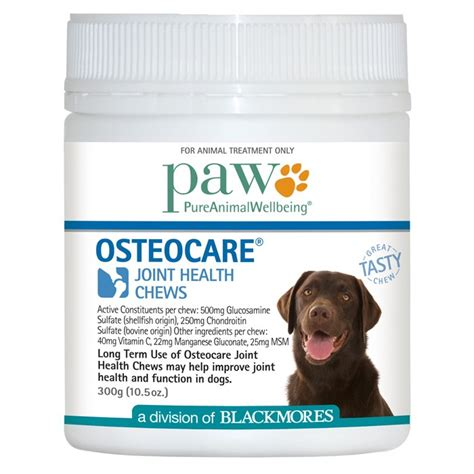 joint health for dogs paw osteocare joint health chews for dogs petbarn