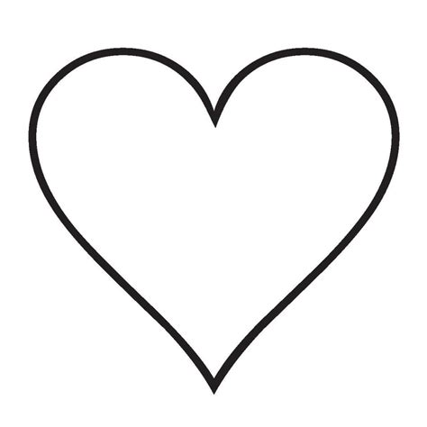 imagenes para colorear y dibujar corazon para dibujar y colorear