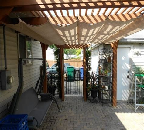 pergola design ideas pergola shade ideas simple with cream