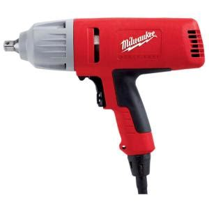 milwaukee 1 2 in square drive impact wrench with detent