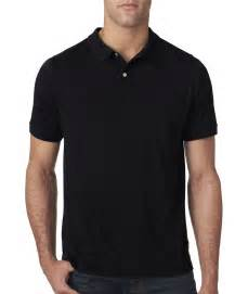 next level mens slub short sleeve comfort polo t shirt new