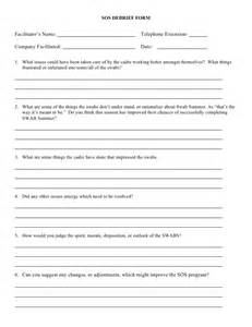 Debrief Template Psychology by 2008 Debrief Form