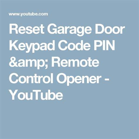 How To Reset Garage Door 25 Best Ideas About Garage Door Remote On Automatic Garage Door Garage
