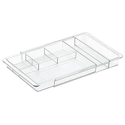 divisori per cassetti sodial r divisori per cassetti bianchi di plastica fai da