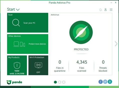 Anti Virus Panda by Panda Antivirus Pro 2017 Review Rating Pcmag
