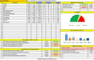 free excel project management template free project management templates 100 downloads