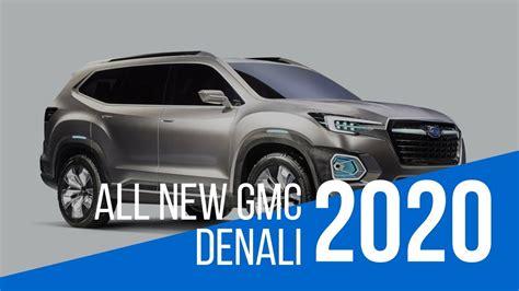 Gmc Denali Suv 2020 by 2020 Gmc Yukon Denali Sport Utility Vehicle