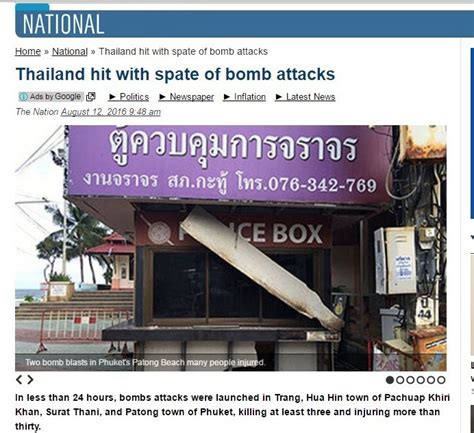thai airports non aeronautical revenues post solid rise flurry of bombings hits thailand s resurgent tourism