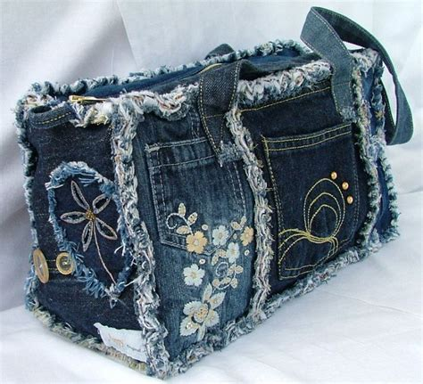Denim Patchwork Bag Patterns Free - 17 best images about denim redo s on denim