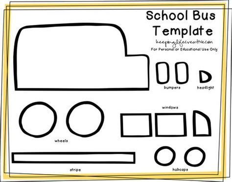 school buses buses and school bus crafts on pinterest