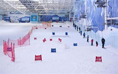 plans   ski centre  paris telegraph