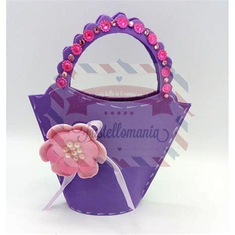 borse con fiori fustella l borsa con fiori 3 d