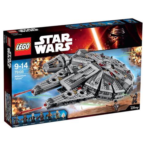 Lego Star Wars 75105 Millennium Falcon LEGO : King Jouet