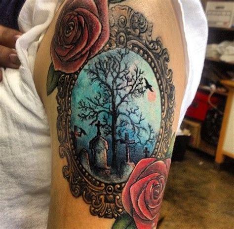 rose bush tattoo designs graveyard images designs