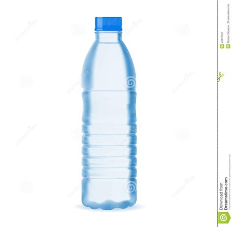 small water bottle stock vector image 46827597