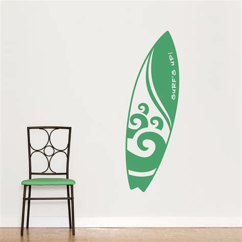 surfboard wall stickers surfboard wall decals images