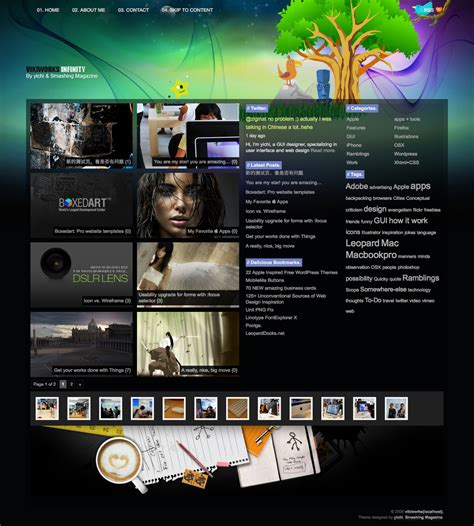 infinity a free wordpress theme smashing magazine