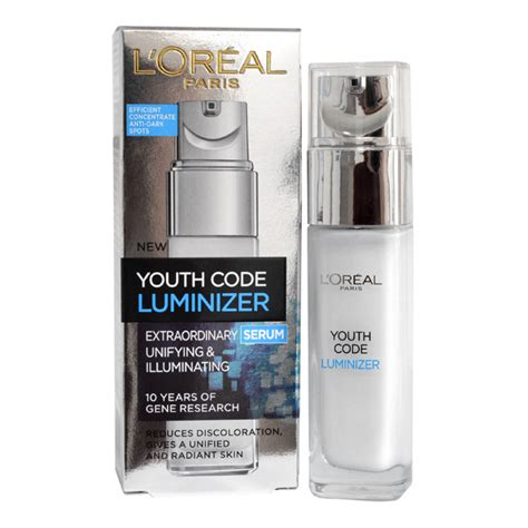 Serum Loreal Extraordinary youth code by loreal luminizer extraordinary serum 30ml
