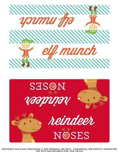 printable labels for ziploc bags christmas bag toppers label printable great for topping