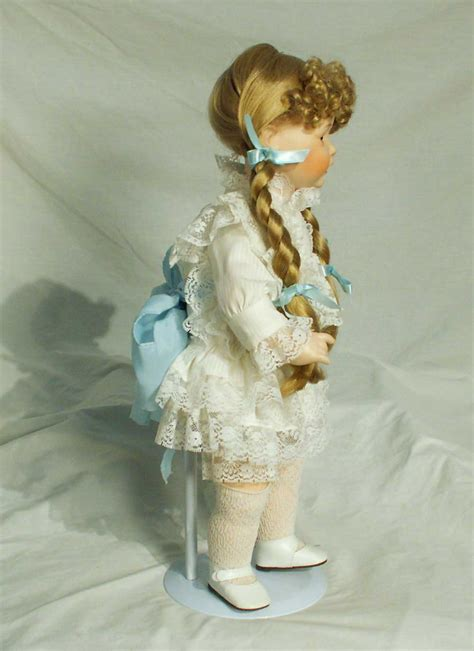 porcelain doll 1990 albert price hayley hello dolly series porcelain doll 18