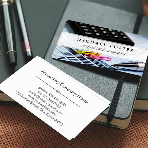 chartered accountant business card template 300 creative and inspiring business card designs page10