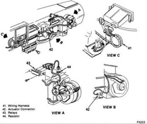 1995 chevy silverado blower motor resistor location 1991 chevy truck blower motor resistor heater problem 1991 chevy