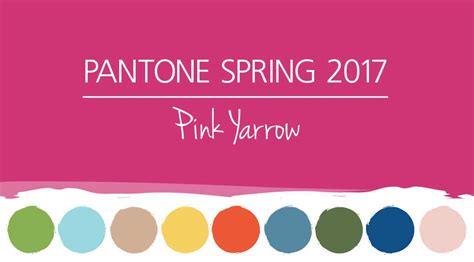 the color of 2017 pantone spring colors 2017 pink yarrow hm etc