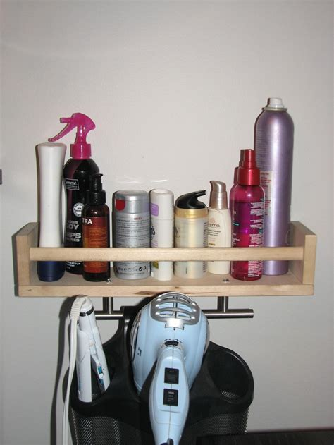 Ikea Spice Rack White by Best 25 Hair Dryer Organizer Ideas On Curling Iron Holder Custom Bathrooms And