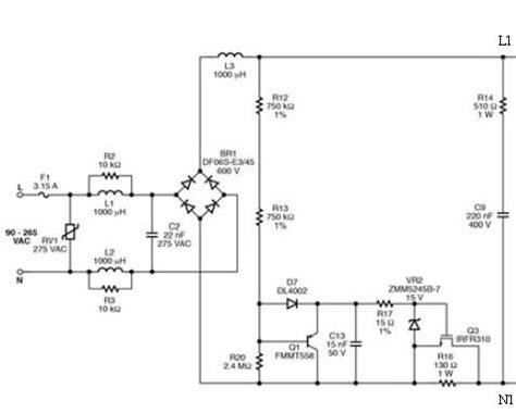 led driver diagram simple led driver circuit diagram images