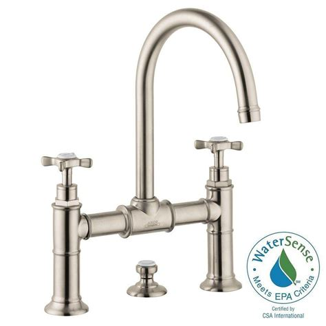 cross handle bathroom faucets hansgrohe axor montreux 8 in widespread 2 handle mid arc