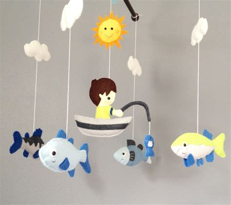 Crib Mobiles by Baby Mobile Crib Mobile Nursery Deor Fishing By