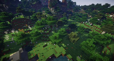 mt rugged magical seed forest of flowers minecraft seeds