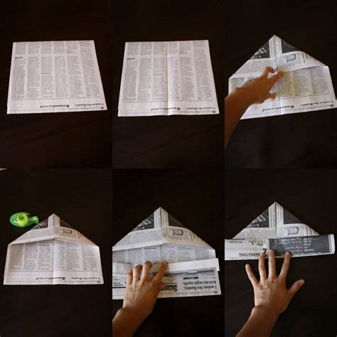 How To Make A News Paper Hat - 25 best ideas about newspaper hat on pirate