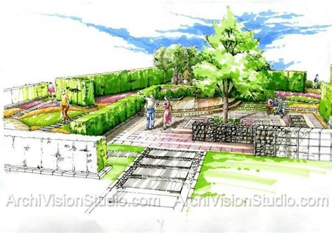 prismacolor pencils 120 подачи pinterest landscaping sketches and architecture