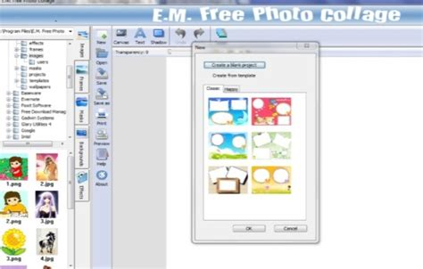 Free Photo Collage Maker Software With Collage Templates Effects Shapes Maker Fx Templates