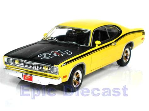 Ertl American 1971 Cuda 383 Diecast 1 18th Scale mopar diecast cars epic diecast cars from chip foose and gmp