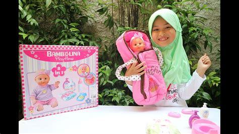 Mainan Boneka Pipis mainan anak boneka bisa pipis bambolina naurah falihah