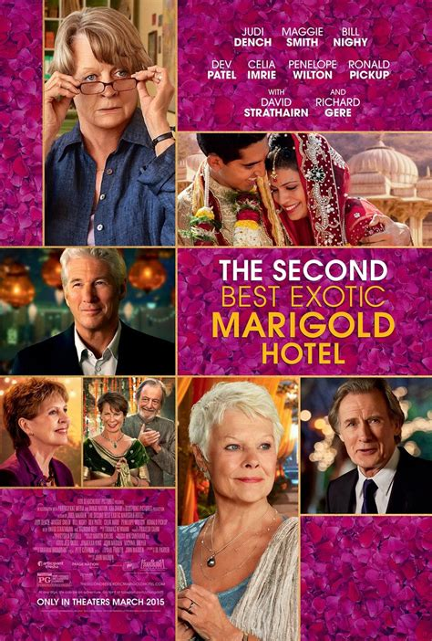 the best marigold hotel the second best marigold hotel on dvd